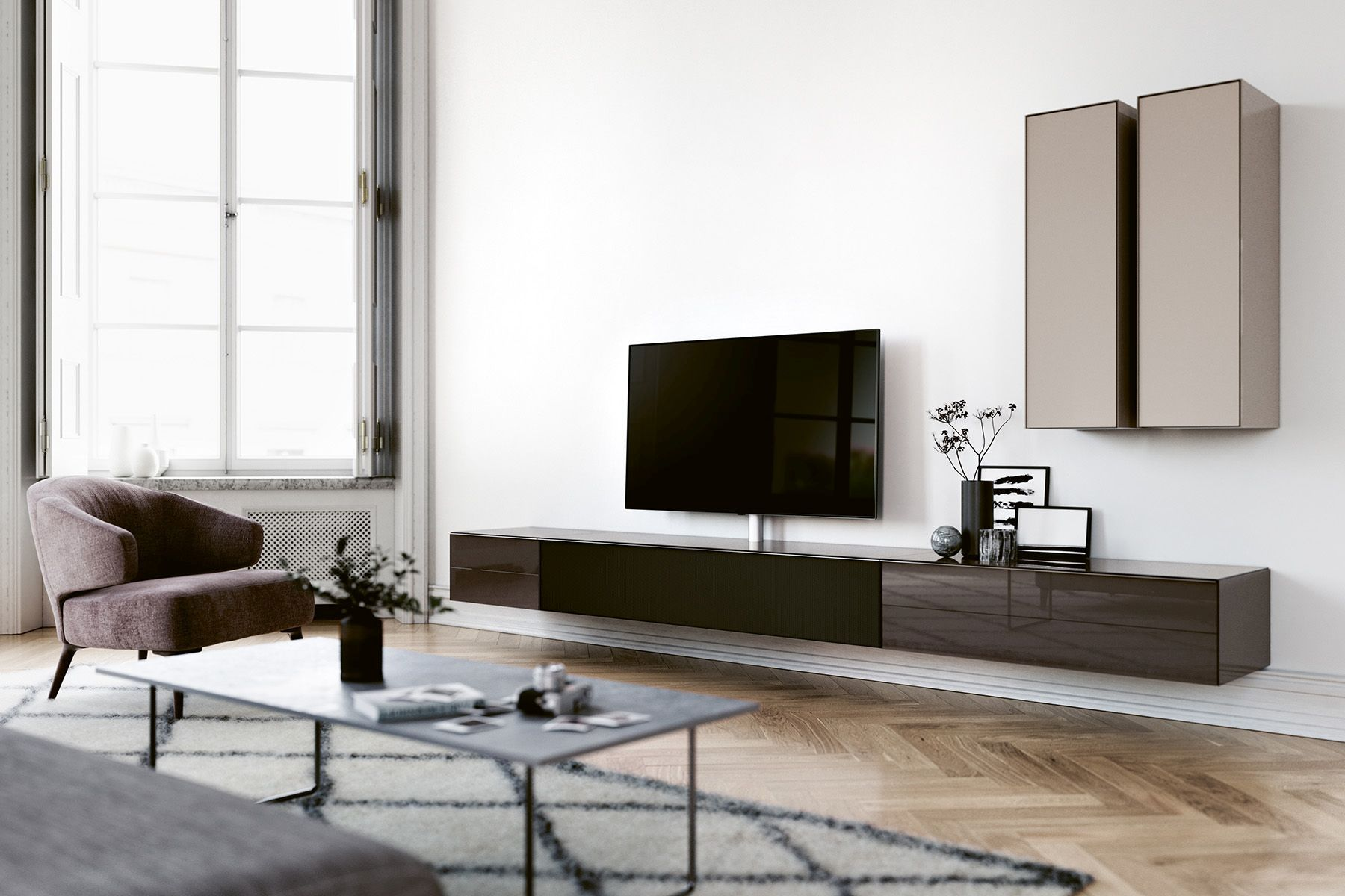 TV-meubel Spectral - Wall
